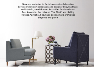Elegant Muse feature in DJ's BB2 fashion and furniture magazine